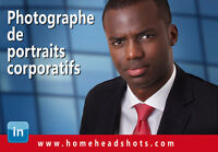 Photographe pour portraits corporatifs