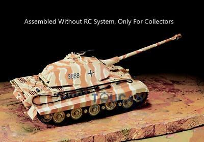 Henglong 3888 King Tiger Porsche 1/16 Plastic Static Tank W/O RC System battery for sale  Shipping to Ireland