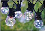Feestverlichting 10 multicolor-lamps - 50 LED's - 5cm