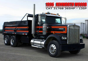 1996 KENWORTH W900B ***16' GRAVEL BOX***