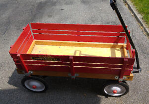 Radio Flyer wagon, genuine,vintage from USA,excellent shape $100
