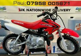 2019 HONDA CRF 50....BEEN WELL LOOKED AFTER....£1795....MOTO X CHANGE