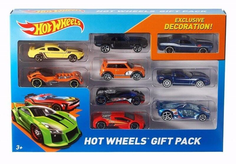 BNIB: Hot Wheels 9-Car Gift Pack (Styles May Vary)