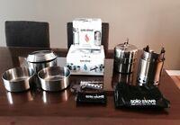 Solo stove batterie de cuisine randonné camping survie cookware