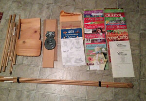 Woodworking Books and Craft Magazines with wood