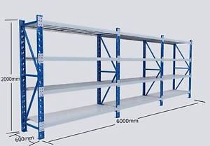 NEW Longspan Home Office Garage Warehouse Shelf Racking Shelving Nerang Gold Coast West Preview
