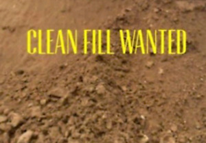 Clean Fill Wanted