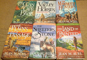 Jean Auel - Clan of The Cave Bear series 1-6
