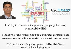 Looking for an Insurance Broker for your insurance needs