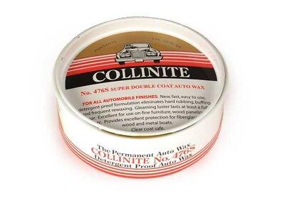 Yellow Paste (Collinite 476 Super Doublecoat Auto Paste Wax (9oz) with Yellow Pad )