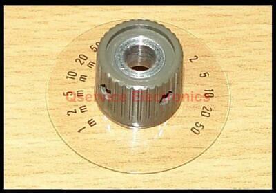 1 Pc Tektronix Knob With Dial Vertical Sensitivity 5000 Series Oscilloscopes