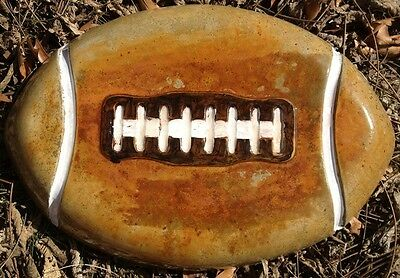 Football step stone 16, Concrete Mold, plastic mold,  cement