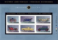 Historic Land Vehicles Complete set of 5 Sheets