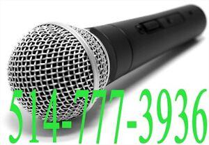 ★★ Micro Pro DJ Dynamique Actif Karaoke XLR ★★