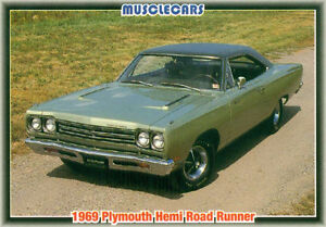 Muscle Cars MOPAR Trading Cards from the 1992 Collect-A-Card Cor Sarnia Sarnia Area image 6