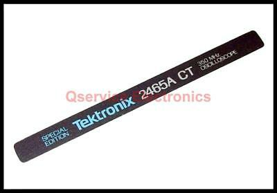 Tektronix Handle Identification Badge For 2465a Ct Analog Oscilloscopes