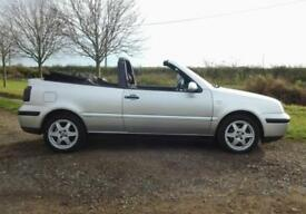 VOLKSWAGEN GOLF 2.0 CONVERTIBLE ~ 1 LADY OWNER ~ LOW MILES ~ MINT CONDITION