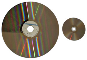 Looking for large laser discs