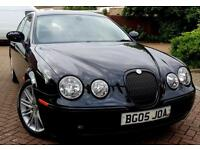 2005 Jaguar S-Type 3.0 V6 Sport 4dr LOW MILEAGE+FULL JAGUAR HSTRY+LEATHER+SATNAV