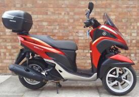 Yamaha Tricity 125cc (65 REG), Excellent condition, Only 2000 miles!