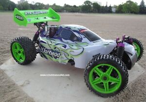 New RC Buggy / Car Nitro Gas Engine 4WD 2.4G !/10 Scale Warhead Belleville Belleville Area image 1