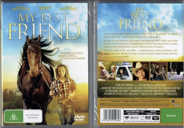 My Best Friend * NEW DVD * Alexis Rosinsky teenage girl horse family movie