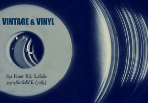 VINTAGE & VINYL RECORDS IS NOW OPEN 11AM TO 6PM (Closed Mondays) Windsor Region Ontario image 8