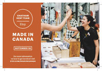 VENDORS: Etsy: Made in Canada - Chatham-Kent