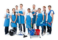 Cleaning persons wanted