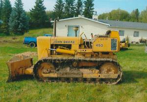 450 Dozer Crawler John Deere