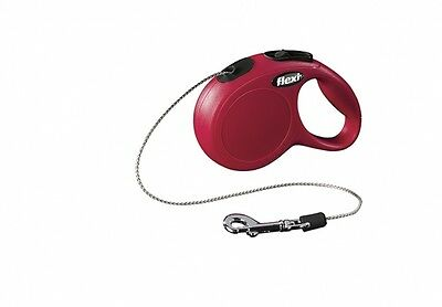 LEAD RETRACTABLE FLEXI NEW CLASSIC XS RED DOG/CAT 9 10/12ft CORD