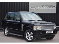 Range Rover 3.0 Td6 Vogue Diesel * Java Black + High Spec + Lovely Example*