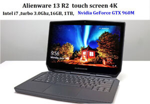 ALIENWARE 17-inch 15-inch & 13-inch ** SEE MY LIST OF CAMING