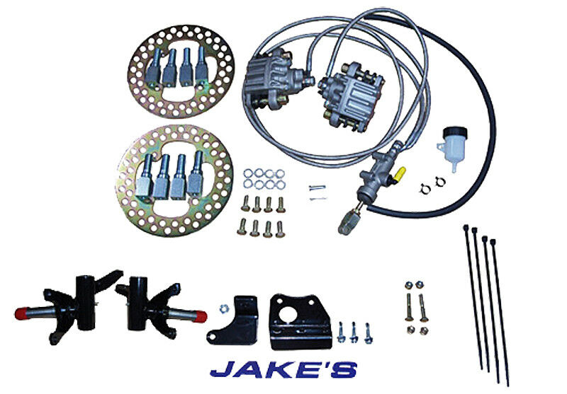 Jakes EZGO Golf Cart Hydraulic Front Brake Kit Fits Medalist / TXT 1994- 2001.5
