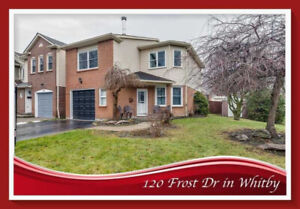 Detached 3 Bed Home, Fully Finished Lower Level W/Rec Room