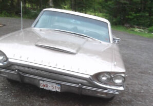 1964 Ford Thunderbird  sold  sold  sold
