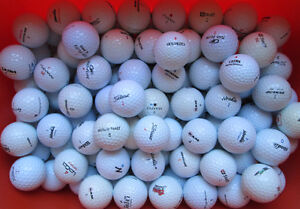 48 great golf balls in AAA condition