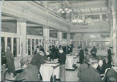 Walker Bank And Trust Co Interior Salt Lake City Utah Original News Service Phot