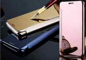 Funda-carcasa-libro-ESPEJO-inteligente-WAKE-UP-SLEEP-para-Samsung-S7-S7-edge