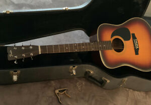 Fender Acoustic Guitar with Hard Case