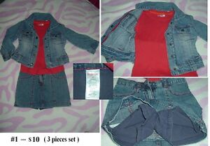 4T Girl's --- Outfit Lot 01