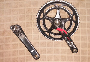 Carbon Fulcrum Racing R Torq Chainset w/ BB bearings and cup