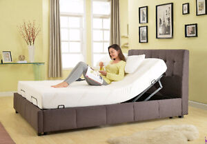 Primo Adjustable bed with Memory Foam Mattress $600