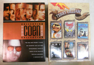 Terry Gilliam & Coen Bros Collections DVD Box Sets
