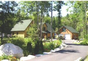 Hubbards - Log Home & Cottage in One