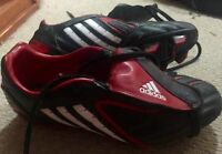 Soccer boots with cleats AND Running shoes