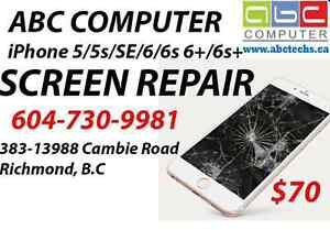 Apple iPhone iPad Screen Replacement 604-730-9981