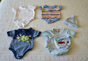 Size 0 - 3 months, Onesies for Spring and Summer