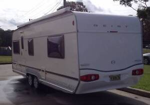 2007 GEIST XK630 XKLUSIV  CARAVAN  NOT JAYCO STERLING Tea Gardens Great Lakes Area Preview