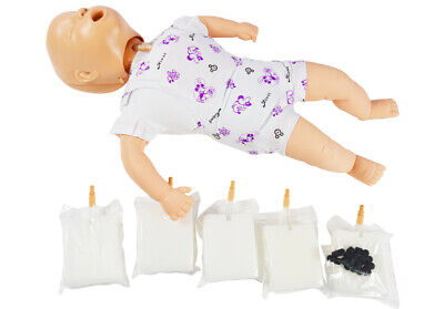Baby Infant Cpr Training Manikin Foreign-body Airway Obstruction Pvc Model